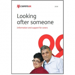 Looking after someone 2018 – pack of 100