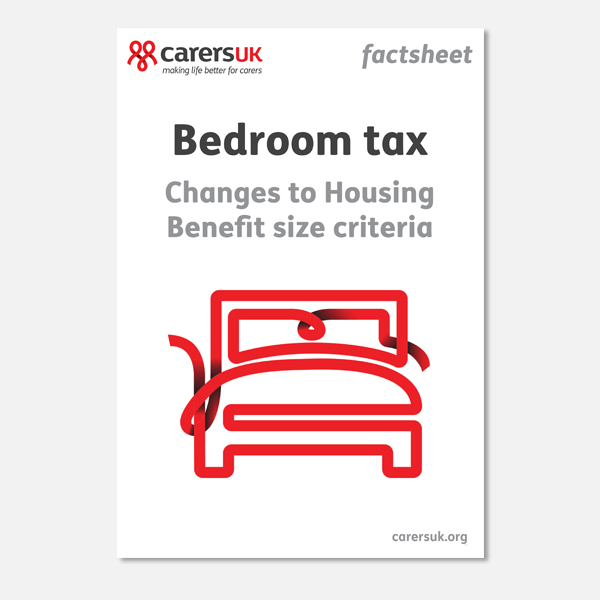 Welcome To Carers Uk Shop View Products Factsheets Bedroom Tax