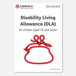Disability Living Allowance (DLA)