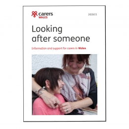Looking after someone 2021 - Wales (English)