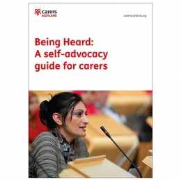 Being Heard: A self-advocacy guide for carers
